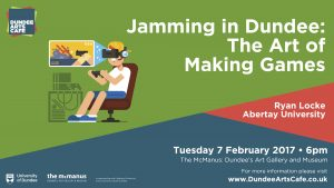 20193 Dundee Arts Cafe - Jamming in Dundee FEBRUARY SLIDE